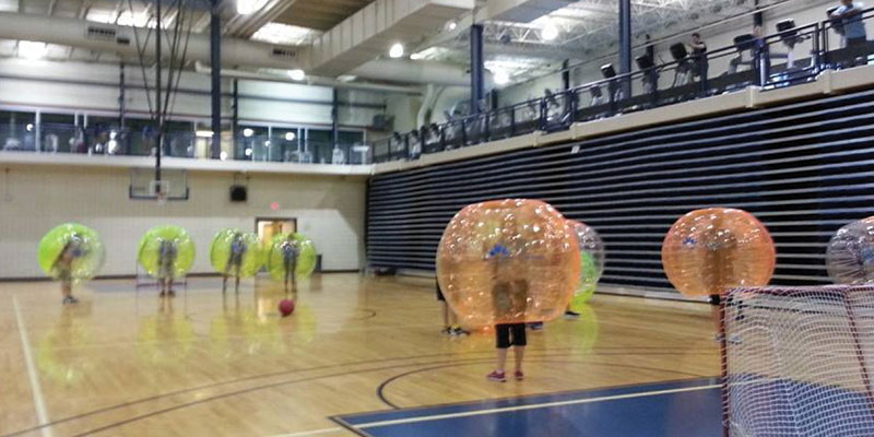 Bounce to Rec: bubble soccer is here