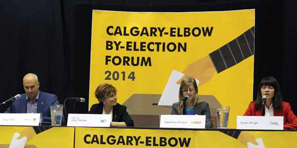 Calgary-Elbow byelection forum